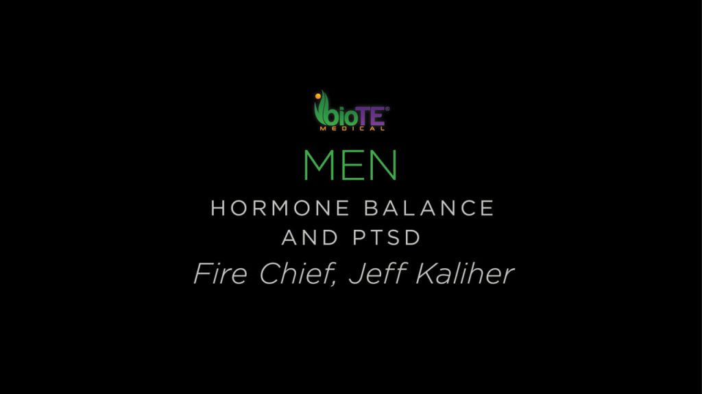 Fire Chief Jeff Kaliher Shares His Experience With Hormone Balance And PTSD