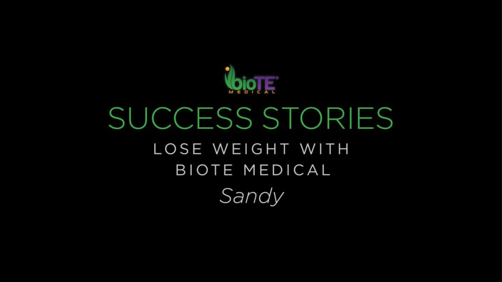 Sandy Shares Her Weight Loss Story