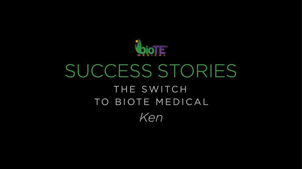 Ken On Switching To BioTE