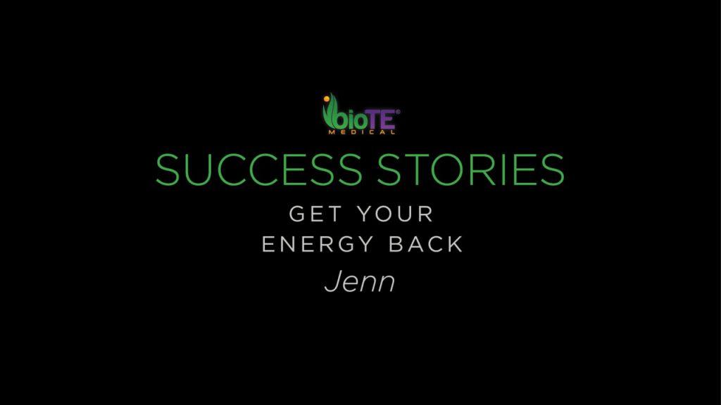 Jenn Gets Her Energy Back
