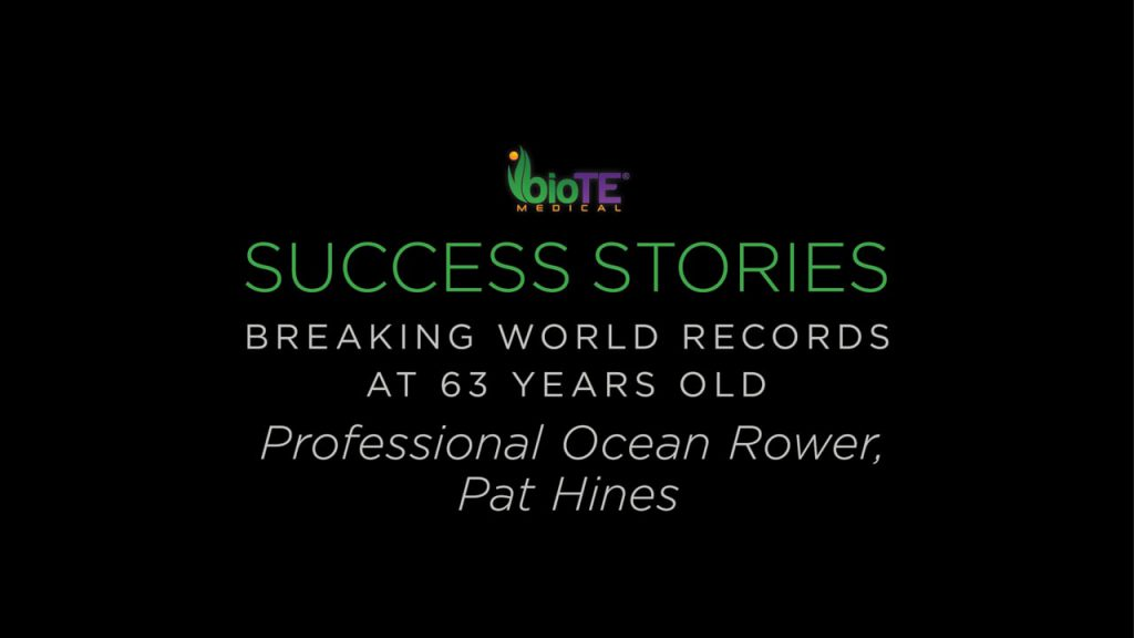 Professional Ocean Rower Pat Hines Talks Pellet Therapy And Setting World Records At 63