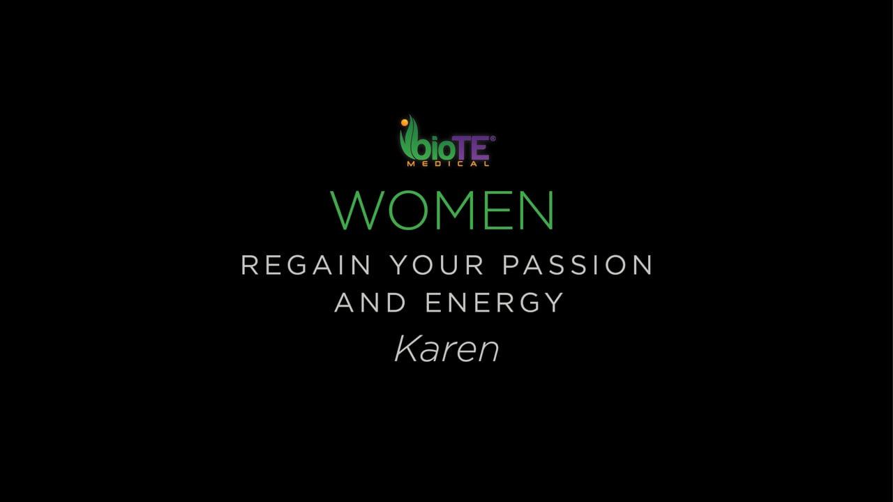 Karen On Regaining The Energy To Sing
