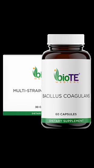 Probiotics: Biote<sup>®</sup> MULTI-STRAIN PROBIOTIC 20B & Biote<sup>®</sup> BACILLUS COAGULANS